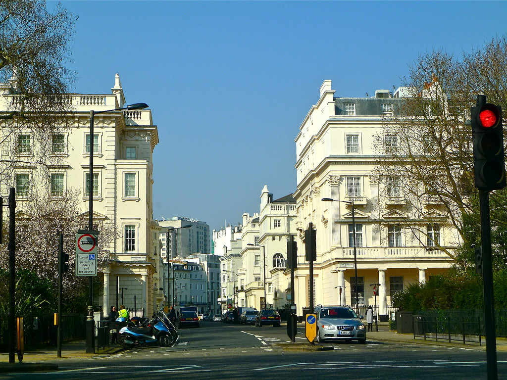 Local Economies Suffer as Foreign Investments Dominate London and NYC, Belgravia, one of London's priciest and most deserted neighborhoods © Herry Lawford