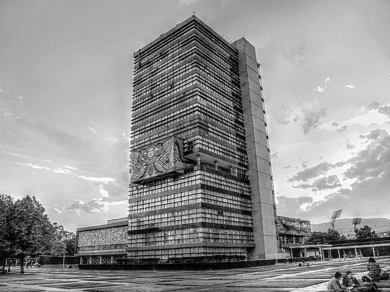 Clásicos de Arquitectura: Ciudad Universitaria / Mario Pani  + Enrique del Moral, Perspectiva actual. Image via Wikipedia