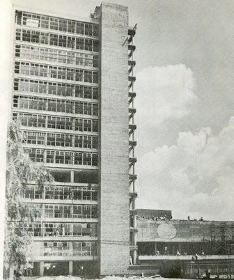 Vista lateral de Rectoría. Image Cortesía INEHRM