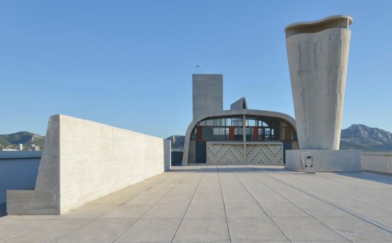 Le Corbusier's Cité Radieuse Rooftop to Host Contemporary Art Center, © MAMO