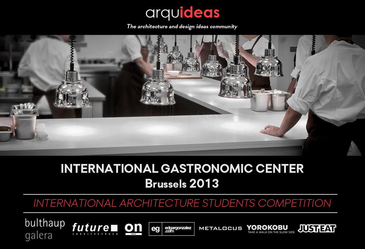 Concurso: Centro Gastronómico Internacional