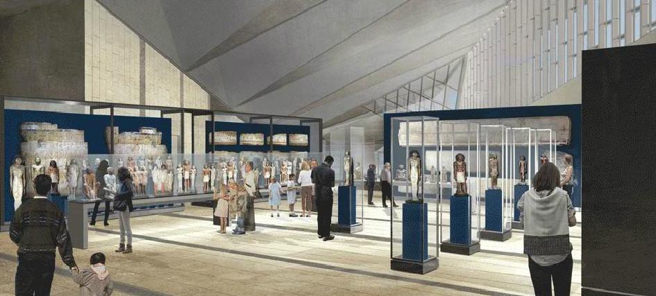 Cortesia de Gran Museo Egipcio