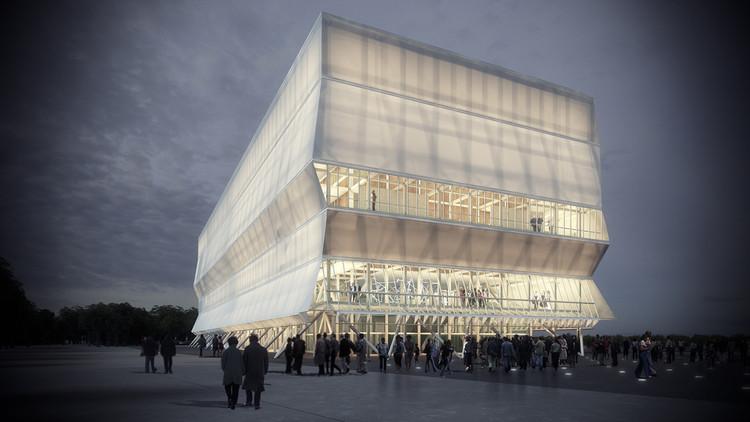 Aprobado el Teatro Regional del Biobío, Cortesía de Legado Bicentenario