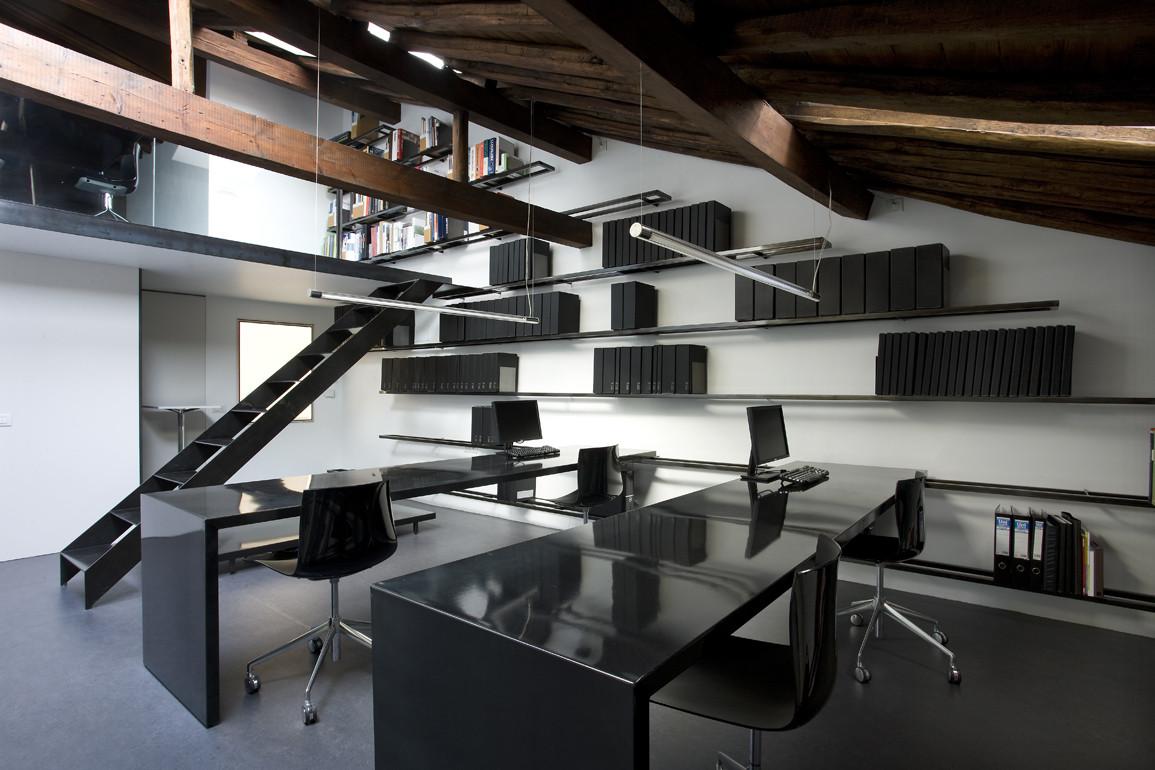 Blur arquitectura oficina plataforma arquitectura - Estudio 3 arquitectos ...