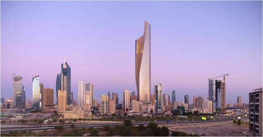 Al Hamra Firdous Tower by SOM / © Tim Griffith