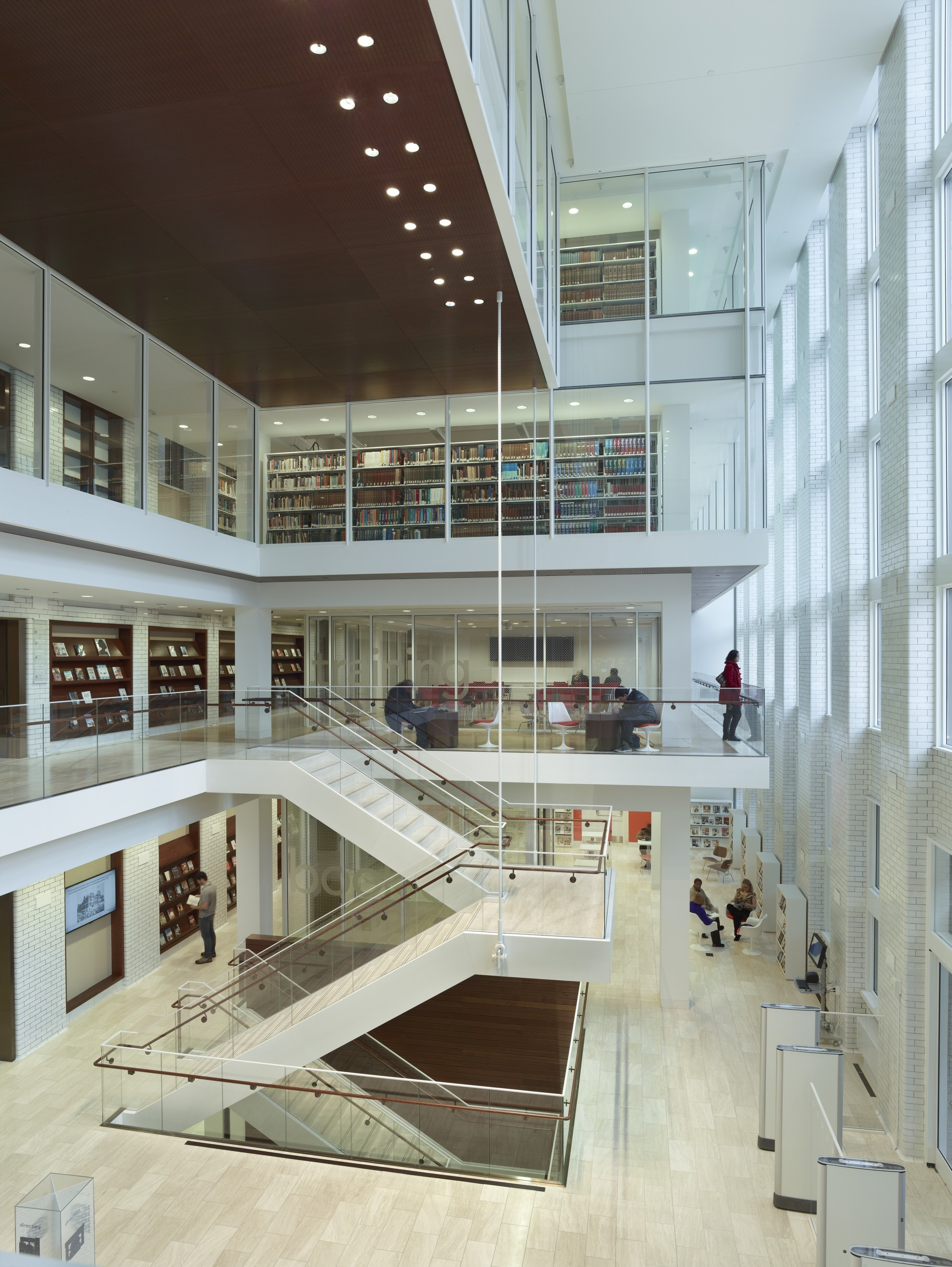 St louis public library cannon design archdaily for Biblioteca arquitectura
