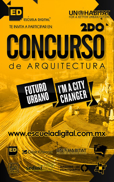 I´M A CITY CHANGER FUTURO URBANO 2013: 2do Concurso de Intervención Urbana, Courtesy of Escuela Digital