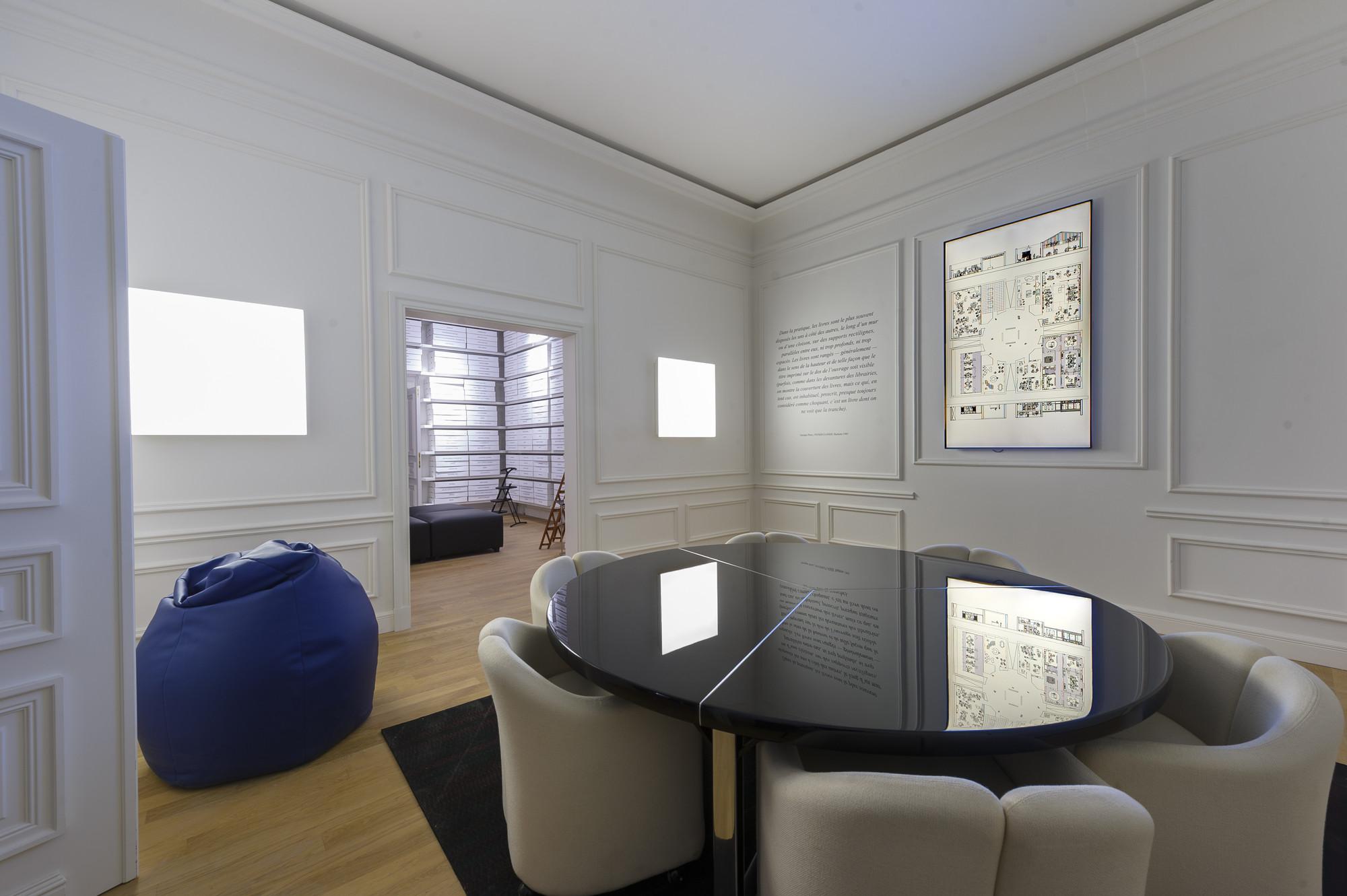 Milan design week 2013 office for living jean nouvel for Jean nouvel design