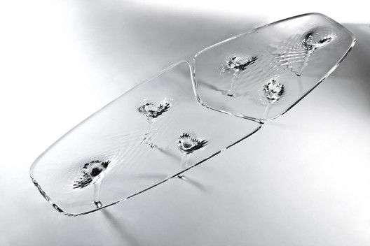 Liquid Glacial Tables for David Gill Galleries / ZHA