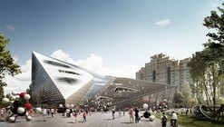 Moscow Polytechnic Museum and Educational Center Competition Entry / 3XN