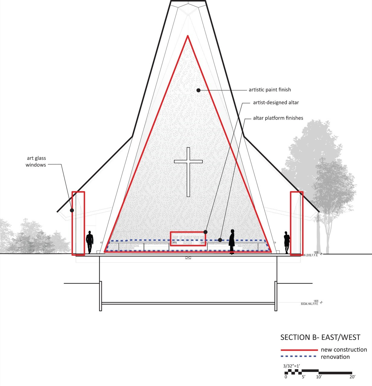 St Paul S Episcopal Church Team Atelierjones Archdaily