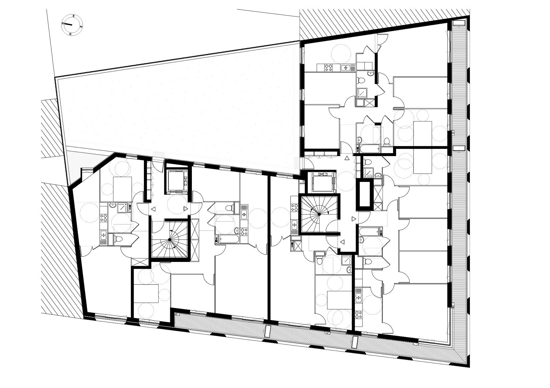 Gallery of social housing units in saint denis atelier for Atelier du jardin d acclimatation
