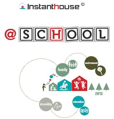 Instant House @ School Competition, Courtesy of MADE Expo 2013 & Federlegno Arredo