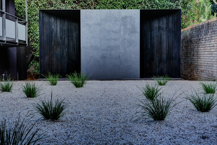 Pabellón Temporal Crescent House / Andrew Burns Architect, © Brett Boardman