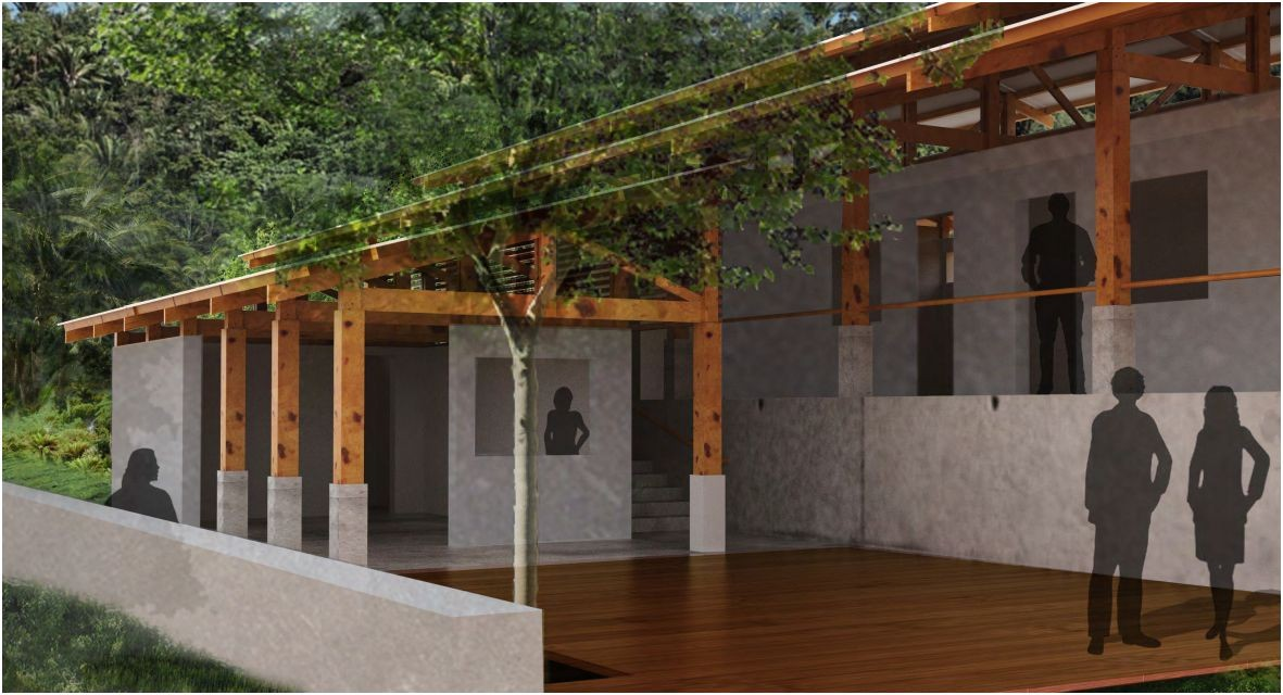 UT Austin GAB chapter's winning proposal for the El Canton Health Center project in Honduras.