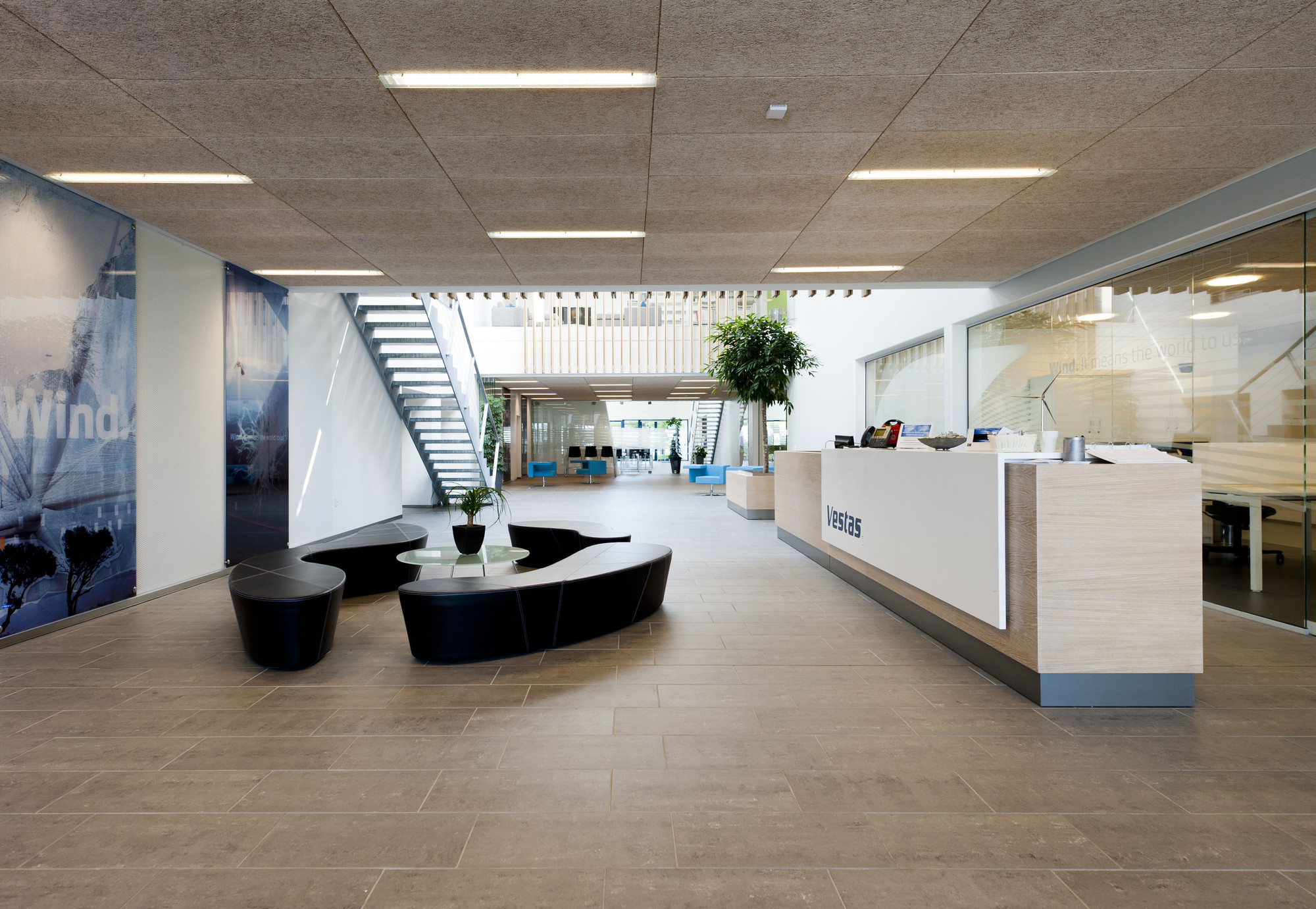 Troldtekt Acoustic Panels: Sustainable certification, Vestas Technology R&D Centre by aarhus arkitekterne a/s