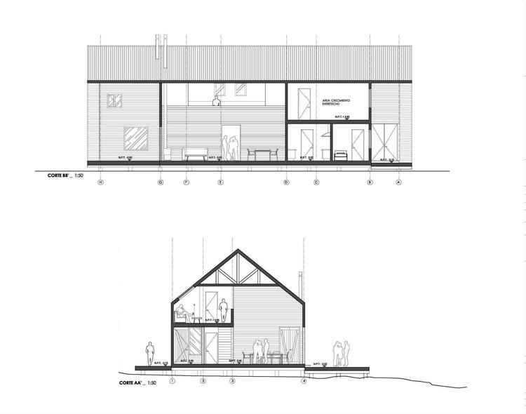 Secciones casa A