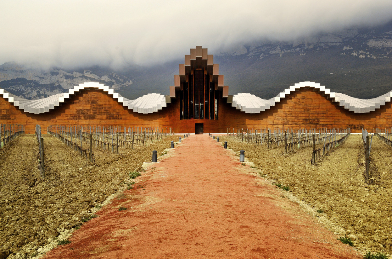 Nueva polémica: Cubierta de las Bodegas Domecq / Santiago Calatrava, © L. Alberto Ramos