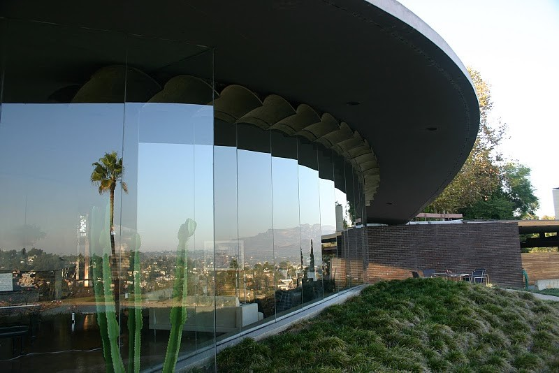 John Lautner's Silvertop in Silver Lake via Take Sunset