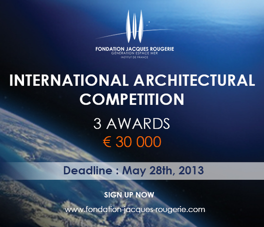 Concurso Internacional Fundación Jacques Rougerie, Cortesía de Jacques Rougerie Foundation