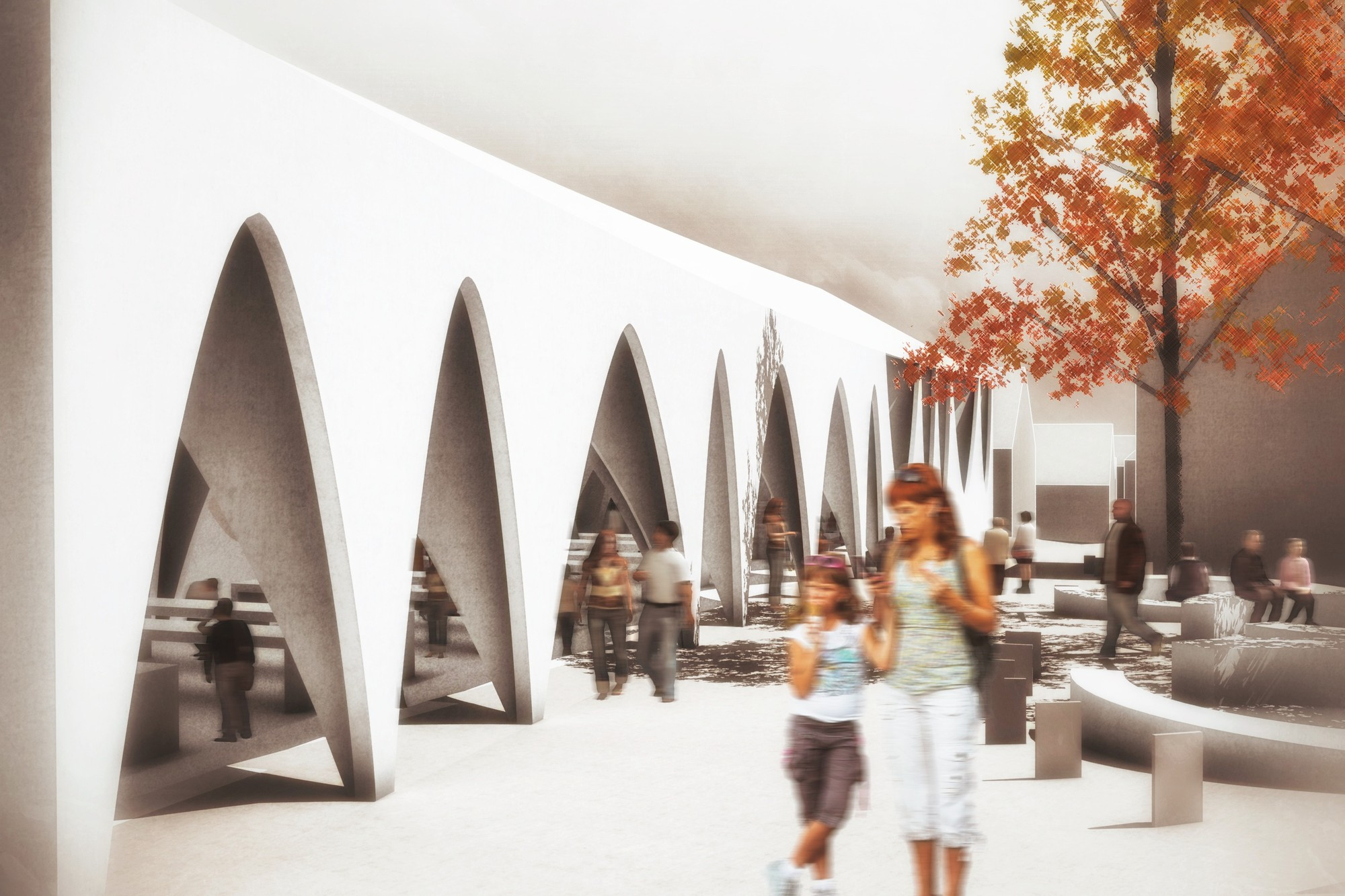 Gallery Of Novo Mesto Central Market Competition Entry