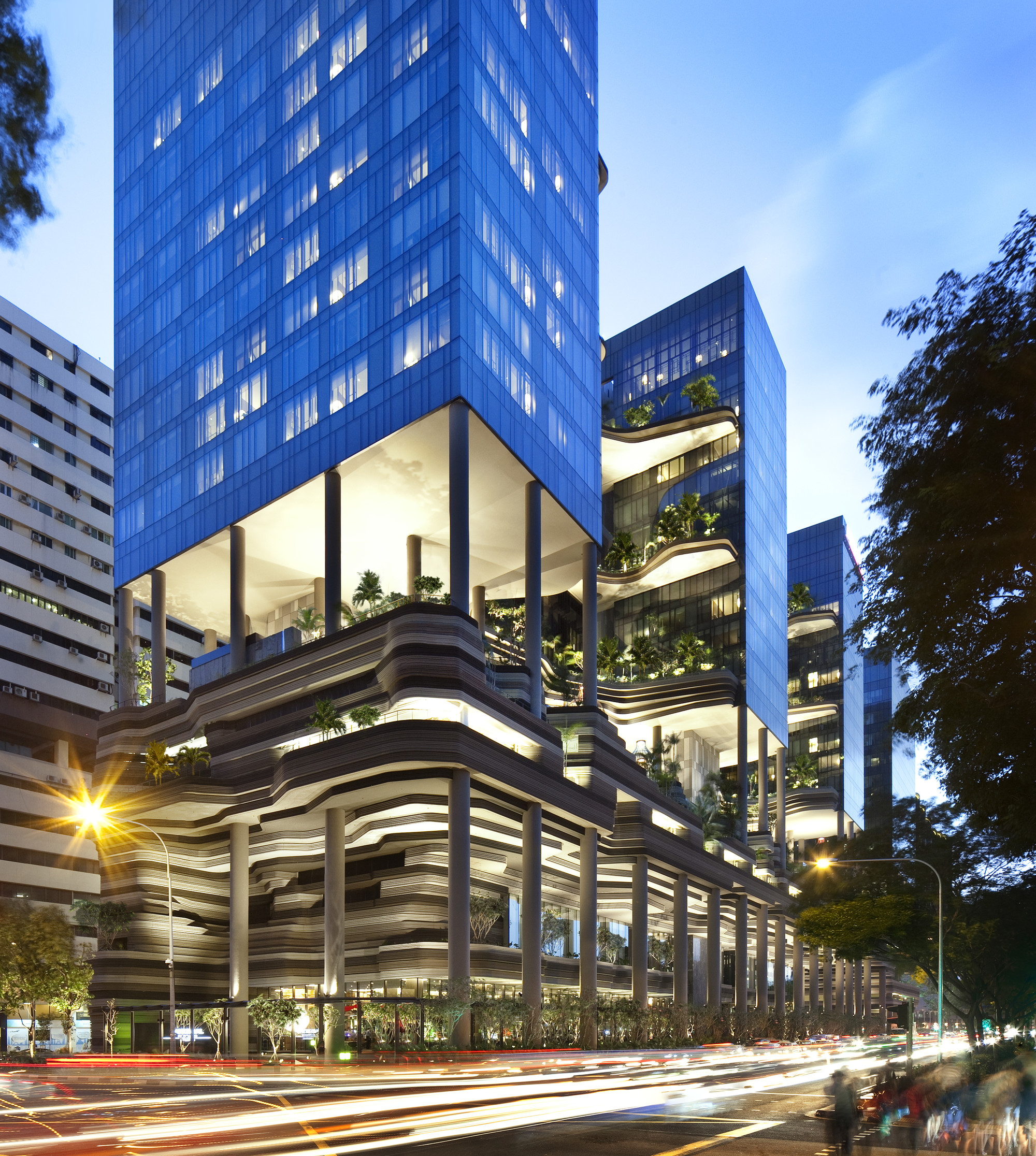 parkroyal on pickering woha archdaily