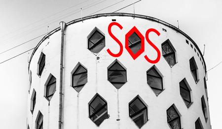 """'The Melnikov House has been shouting SOS already for several months, but nobody is listening...' - Ekaterina Karinskaya.""  Image ©Natalia Melikova, docomomo-us"