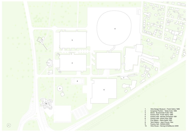 Vitra Campus General Plan