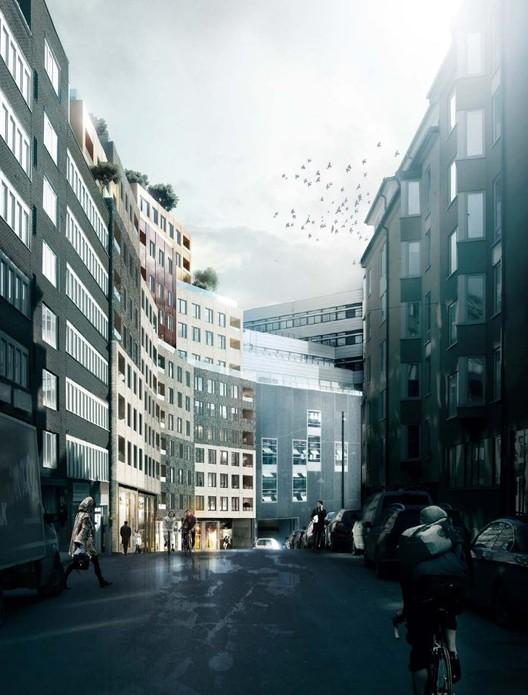 Courtesy of Kjellander + Sjöberg Architects