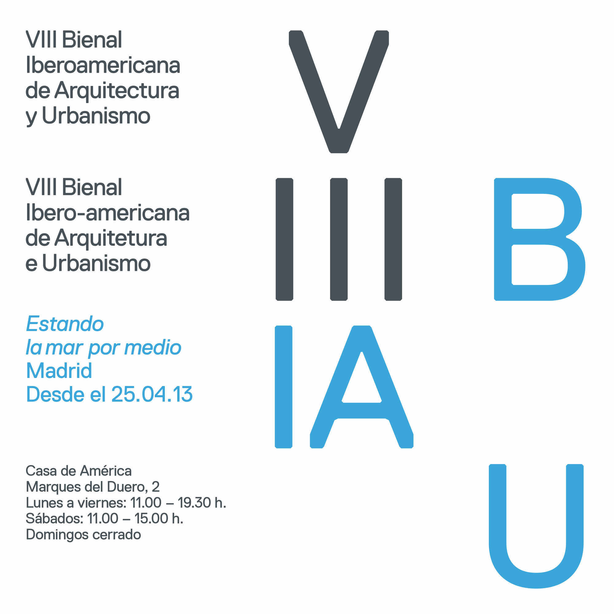 Exposición VIII BIAU Madrid / Inauguración , Courtesy of VIII BIAU