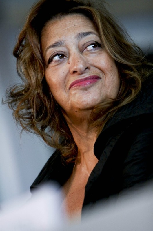 Zaha Hadid Wins Veuve Cliquot Business Women Award, © Simone Cecchetti