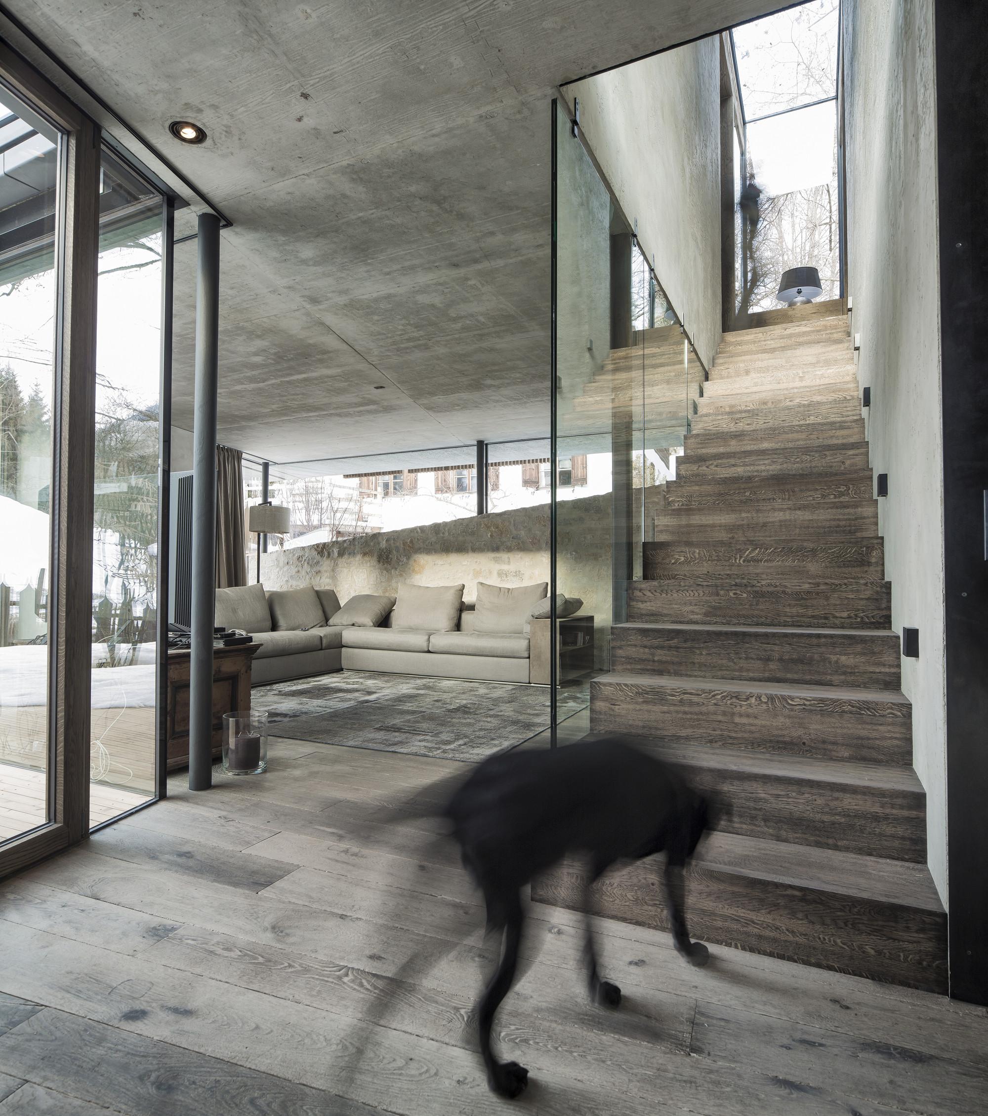 gallery of haus walde gogl architekten 11. Black Bedroom Furniture Sets. Home Design Ideas