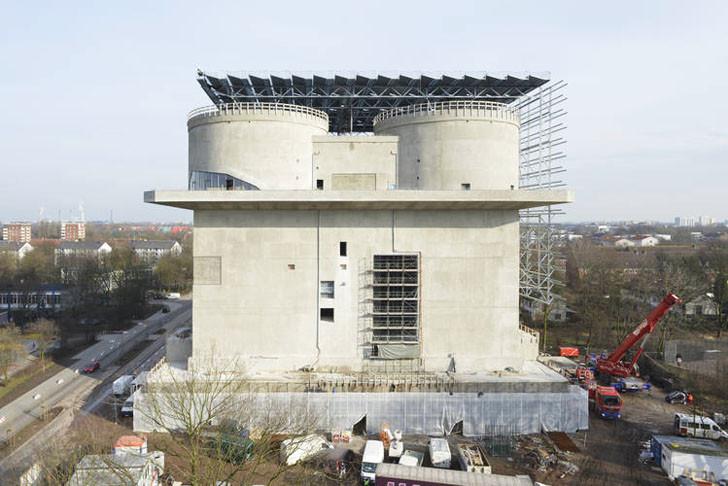 Hamburgo transforma un búnker de la 2da Guerra Mundial en una Planta de Energía Renovable, © Hamburg Marketing GmbH