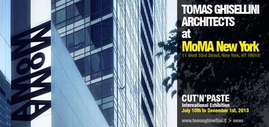 Tomas Ghisellini Architects at MoMA New York, Courtesy of Tomas Ghisellini Architects