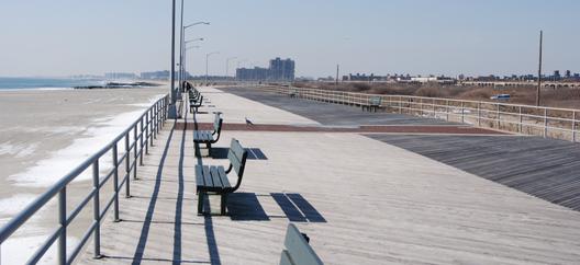 pre-Hurricane Sandy boardwalk / © 2013 FARROC