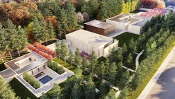 Famen Temple Zen Meditation Center Winning Proposal  / OAC