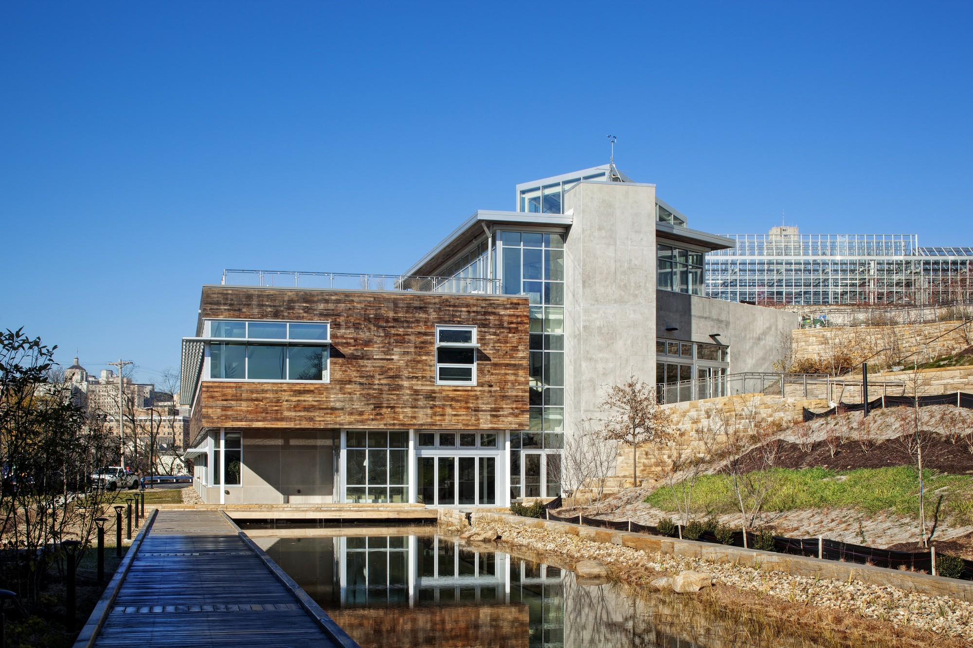 Gallery Of Center For Sustainable Landscapes The Design Alliance