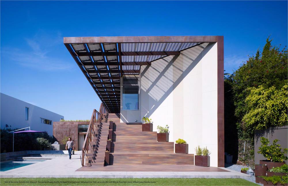 AIA Selects the 2013 COTE Top Ten Green Projects, Yin Yang House; Venice, California / Brooks + Scarpa © John Linden