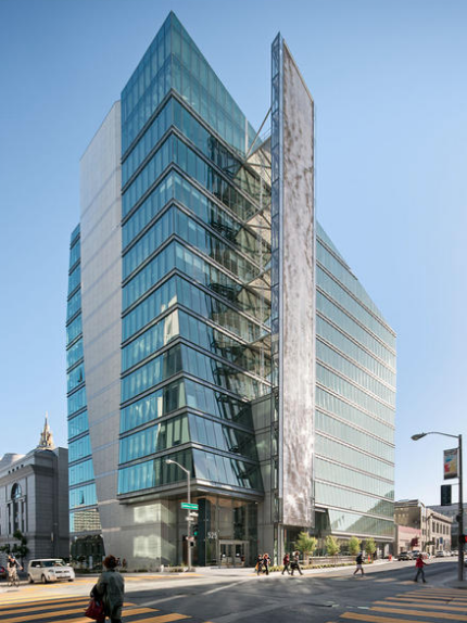 San Francisco Public Utilities Commission Headquarters (SFPUC); San Francisco / Joint Venture: KMD Architects w/ Stevens & Associates
