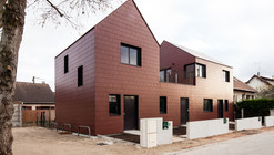 3 Social Dwellings / Chartier-Dalix architects