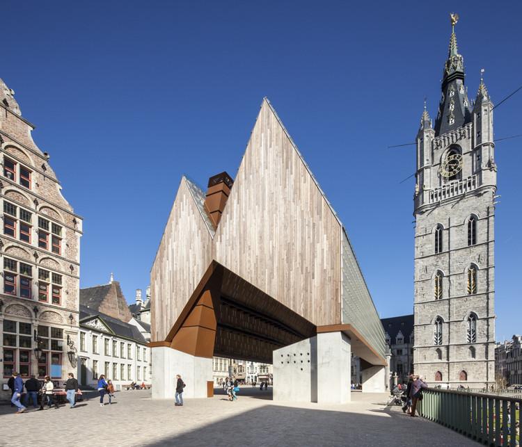 Market Hall in Ghent / Marie-José Van Hee + Robbrecht & Daem, © Tim Van de Velde