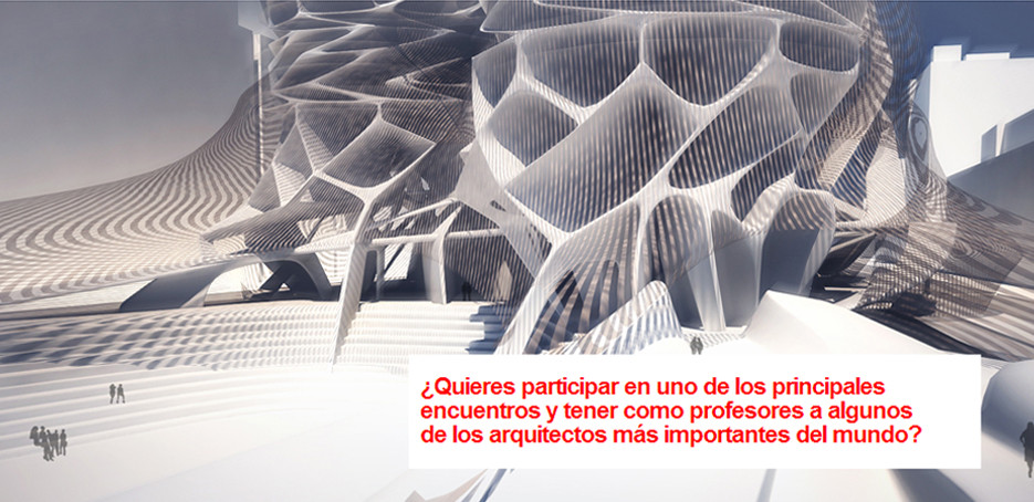 Workshop internacional Master Madrid City / Julio - Madrid, Courtesy of Future arquitectura