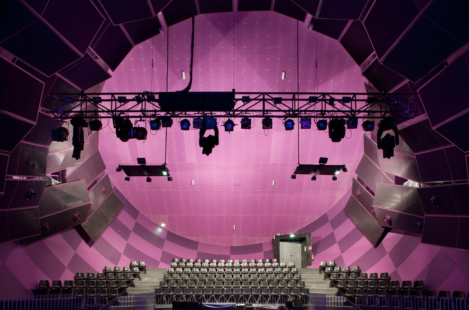 La Luciole Concert Hall,© Luc Boegly