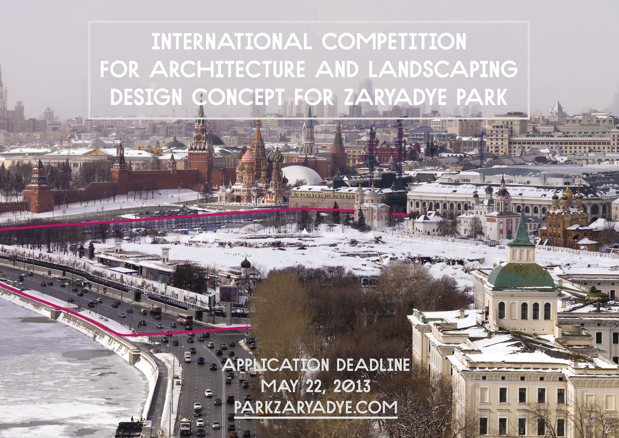 International Competition for Zaryadye Park, Courtesy of Strelka Institute for Media Architecture and Design