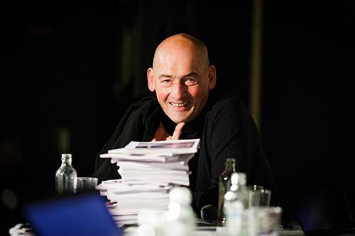 Johannes Vermeer Award 2013 goes to Rem Koolhaas, © Fred Ernst