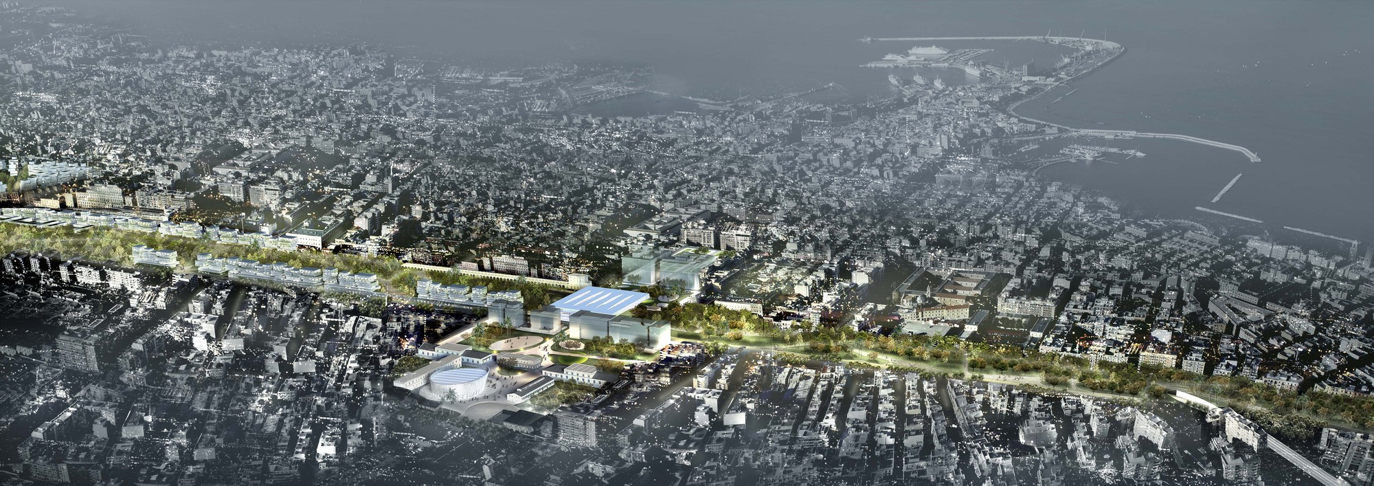 Massimiliano and Doriana Fuksas Wins Competition To Create 'Greenest City in Italy', © Studio Fuksas