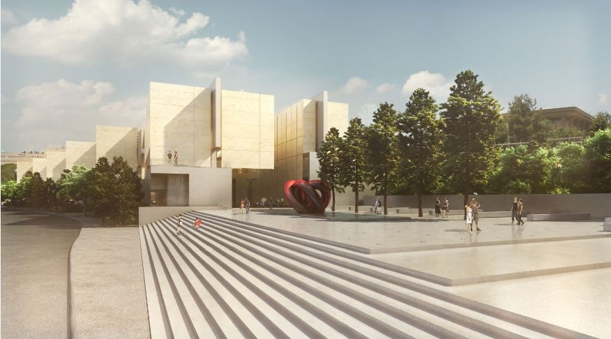Israel National Library Competition Entry / Gil Even-Tsur, Courtesy of Gil Even-Tsur