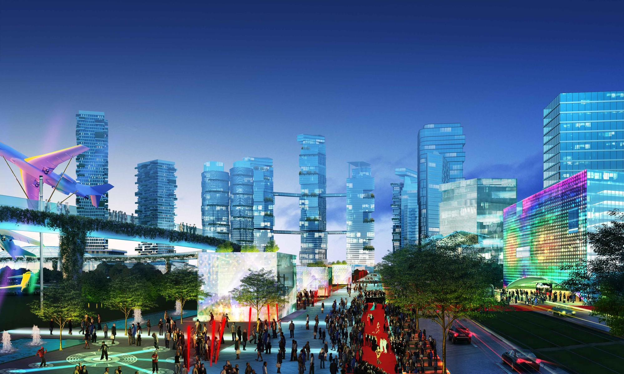 Bandar malaysia masterplan winning proposal broadway for Broadway malyan