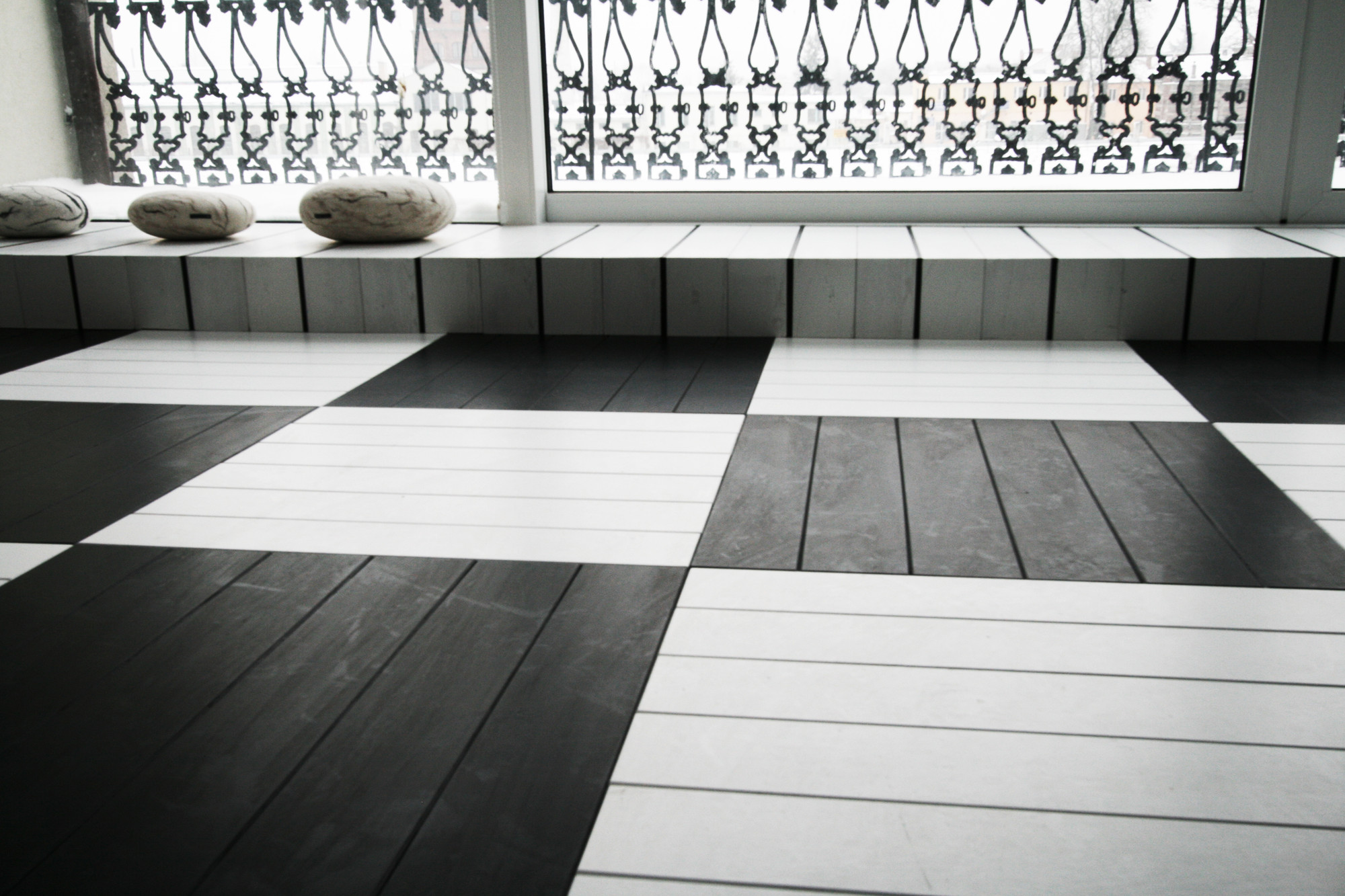 Gallery of black and white office toya design 6 - Black and white office decor ...