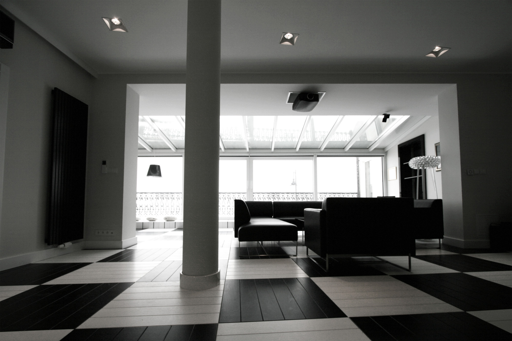 Gallery Of Black And White Office Toya Design 4